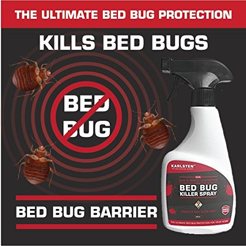 Karlsten Bed Bug Pest Control Killer Spray Fast Acting Elimination Of  Irritating Bed Bugs Kills On Contact, Formulated To kill Bed Bugs In A Fast  &