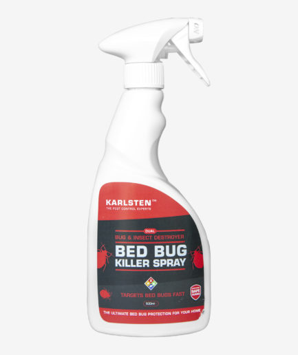 Karlsten Bed Bug Pest Control Killer Spray Fast Acting Elimination Of Irritating Bed Bugs Kills On Contact, Formulated To kill Bed Bugs In A Fast & Effective Way 500Ml
